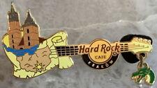 Hard Rock Cafe KRAKOW 2011 St. Mary's Church GUITAR PIN - HRC #61050