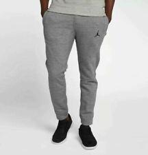 Nike Jordan Vêtements de Sport Ailes Pantalon Polaire XL Gris Décontracté