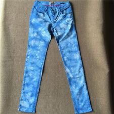 Maison Scotch Blue Tie Dye Skinny Jeans