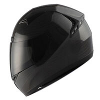 NEW Genuine Real Carbon Fiber 1Storm Motorcycle Full Face Helmet DOT Black S-XXL