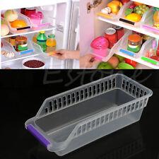 Storage Box Collecting Basket Kitchen Refrigerator Fruit Organiser Rack Holder