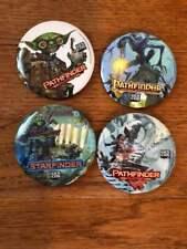 Pathfinder Promo Button Gen Con 2018 Set Of 4 Paizo Buttons Pin Starfinder