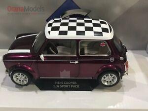 1:18 Mini Cooper 1997 Metallic Purple * S1800606