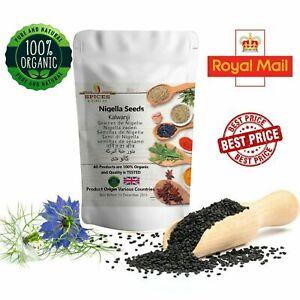 Pure Nigella Black Seeds **New Stock**Organic Kalonji Nigella Sativa Free UK P&P