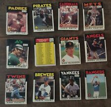 O-PEE-CHEE Baseball Complete Sets. * 1986-87-88-89* Pick your Year