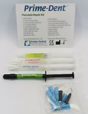 Porcelain Repair Kit (Dental Dam, ETCH, Silane, Drying Agent) PRIME DENT USA
