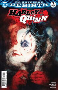 Harley Quinn (2016) #1 Rebirth Regular & Variant Covers (2 book lot) NM-