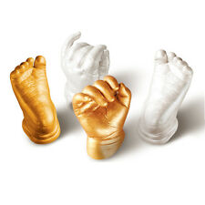 3D Plaster Baby Casting Kit Handprints Footprints Hand & Foot Casts