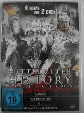 4x Mittelalter Historien - Bathory Folter Blutgräfin - Pakt Bestien, Kreuzritter