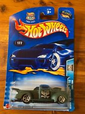 New 2003 Hot Wheels - Work Crewsers 1940 Ford Pickup Truck - Collector #177