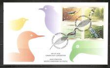 Canada Sc # 1842a Birds Fdc. Ashton Potter