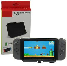 External Extended Battery Charging Case For Nintendo Switch 10000mAh