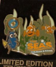 Disney Wdw Piece Of History Iii The Seas Finding Nemo Dory & Marlin Le 3500 Pin