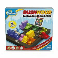 ThinkFun - Rush Hour Game - Traffic Jam Logic Game (Ages: 8+ to adult)