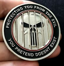 challenge coin ICE DONALD TRUMP Immigration Customs Enforcement  The Punisher
