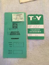 Schiphol Airport Authority ,Amsterdam 1940's Boarding Passes N.Y Luchthaven