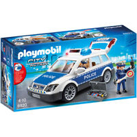 PLAYMOBIL Squad Car with Lights and Sound - City 6920