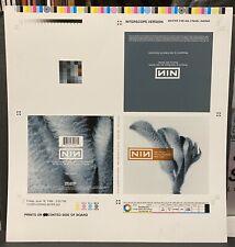 NINE INCH NAILS Day The World Went Away 1999 CD Digipak ARTWORK Proof REZNOR #3