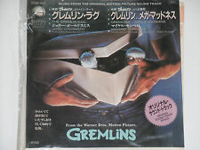 "Jerry Goldsmith-The Gremlin rag-Gremlins-banda sonora 7"" 45 Ost japón descompresiones"