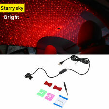 USB LED Car Atmosphere Star Light Red Lamp Projector Christmas Decoration