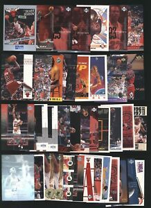 Lot (x39) Mixed years and brands MICHAEL JORDAN Mixed cards Chicago Bulls