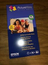 Epson PictureMate Print Pack Inkjet Cartridge with 100 Photo Paper Sheets T5570
