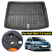 For VW Golf GTI R MK7 Hatch 13-18 Cargo Boot Liner Trunk Mat Floor Tray Carpet