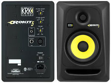 KRK RP-5 G3 RP5G3 ROKIT BLACK BLACK COUPLE (2) STUDIO MONITORS NEW OFFER