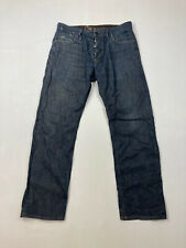 G-STAR RAW HARVER PANT ORIGINAL Jeans - W33 L32 - Navy - Great Condition -Men's