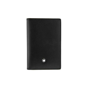[Mont Blanc] 14108 Meisterstuck Business Card Holder Men's Small Leather Wallet