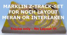 Marklin Z Track-Set for NOCH Z Scale Layout Meran 87000 or Interlaken 87005