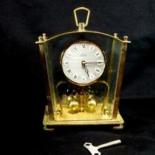 More details for vintage 50s kern w german made anniversary mechanical carriage clock - working