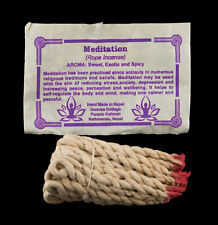Encens nepalais tibetain cordelettes senteur Meditation 100 % Naturelle  591