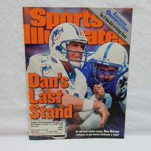 SPORTS ILLUSTRATED DECEMBER 13, 1999 ON THE COVER DAN MARINO