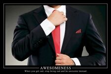 HOW I MET YOUR MOTHER ~ TIE AWESOMENESS 24x36 POSTER Awesome Sad Barney Stinson