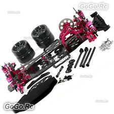 Alloy & Carbon SAKURA D4 RWD 2WD EP 1/10 Drift Racing Car Frame Body #KIT-D4RWD