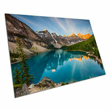 Poster print Moraine Lake Rocky Mountains Canada wall Poster A1 Poster