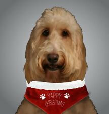 DOG BANDANA YAPPY CHRISTMAS PET GIFT SANTA FESTIVE TOY OUTFIT PET