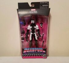 HASBRO MARVEL LEGENDS GAME STOP EXCLUSIVE DEADPOOL BACK IN BLACK W/EXTRA HANDS