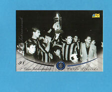 INTER CARDS 2000- numero 98- 2^ COPPA INTERCONTINENTALE 15/09/1965 -NEW