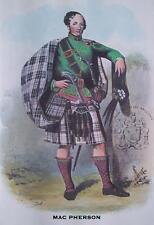 Clan MacPherson - Scottish Tartan Art Print - MATTED