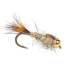 Hares Ear Gold Rib, Beadhead, Fly Fishing Flies - Per 6 - Sizes Available, #14