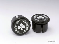 Colnago arabesque Plugs Caps guidon bouchons lenker vintage style flat New