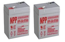 NPP 6V 5Ah Replacement for UPS Battery for APC AP200 UB645 Power Sonic PS-640 2