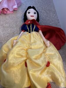 Harrods Exclusive Disney Snow White Soft Toy Doll Plush Ragdoll Rare