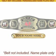 Personalized Nameplate for Adult WWE Raw Tag Team Championship Replica Belt