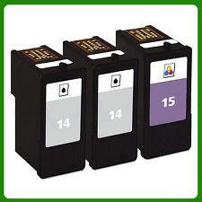 3 Ink Cartridge for NO.14 NO.15 Z2300 X2600 X2670 Z2310 X2630 Z2320 X2650