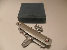 Dinky Toys aeroplane #60h Singapore flying boat aircraft, late issue, boxed rare