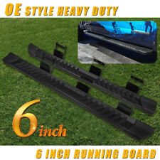 "6"" For 2017-2020 Ford F250 Superduty Crew Cab Side Step Running Board Nerf Bar V"