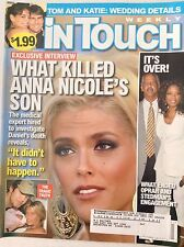 InTouch Magazine Anna Nicole's Son's Death October 9, 2006 081017nonrh2